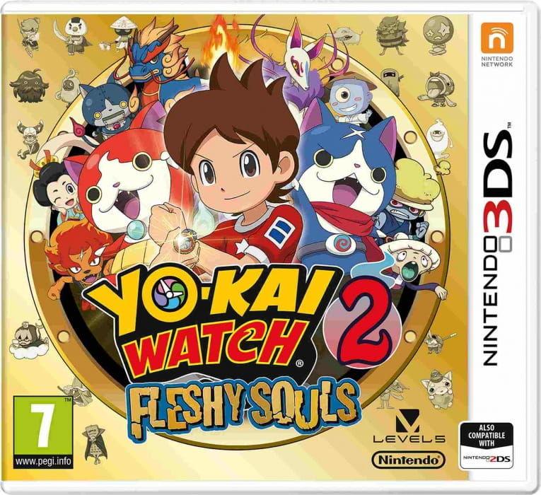 Gra YO-KAI WATCH 2: Fleshy Souls (Nintendo 3DS)