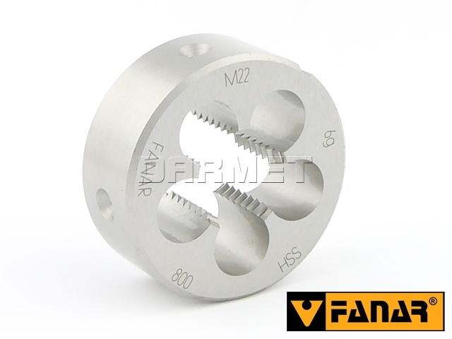 Narzynka M22 HSS 800 gwint metryczny zwykły - FANAR (N1-121001-0220)