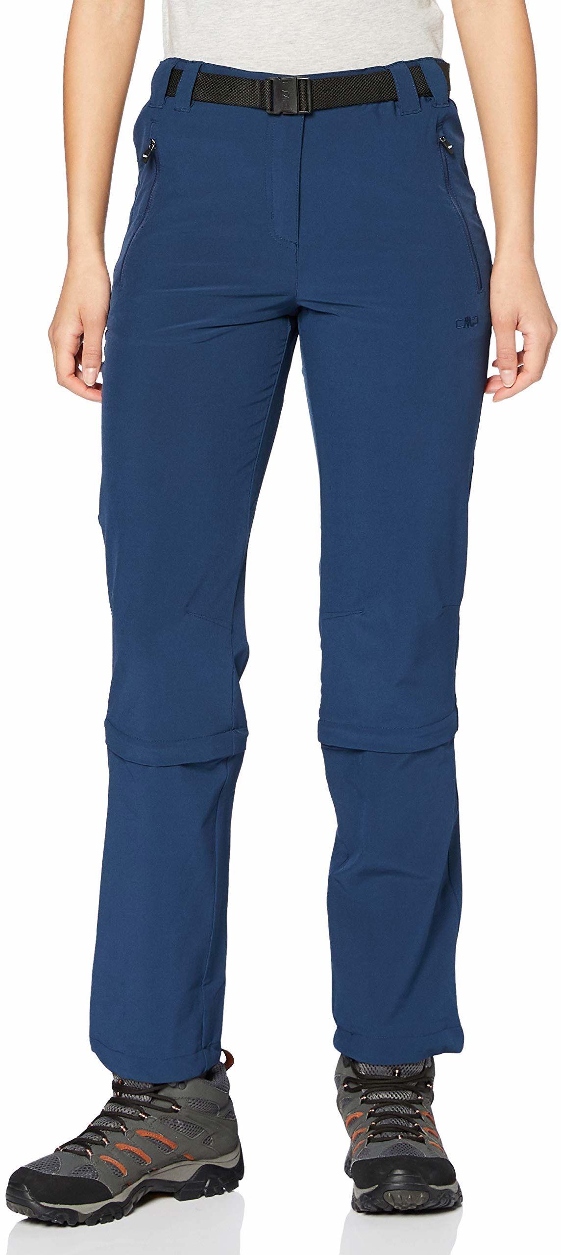 CMP spodnie damskie z odpinanymi nogawkami, 3t51346 niebieski niebieski D44