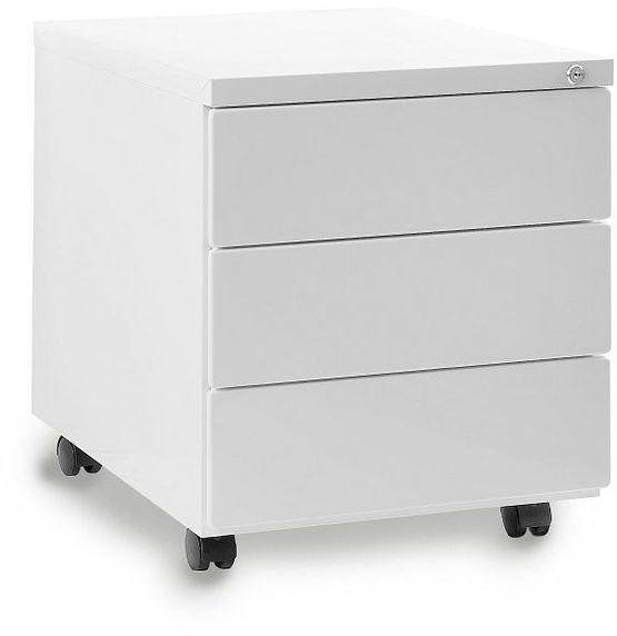 Kontener biurowy 424 biały Unique