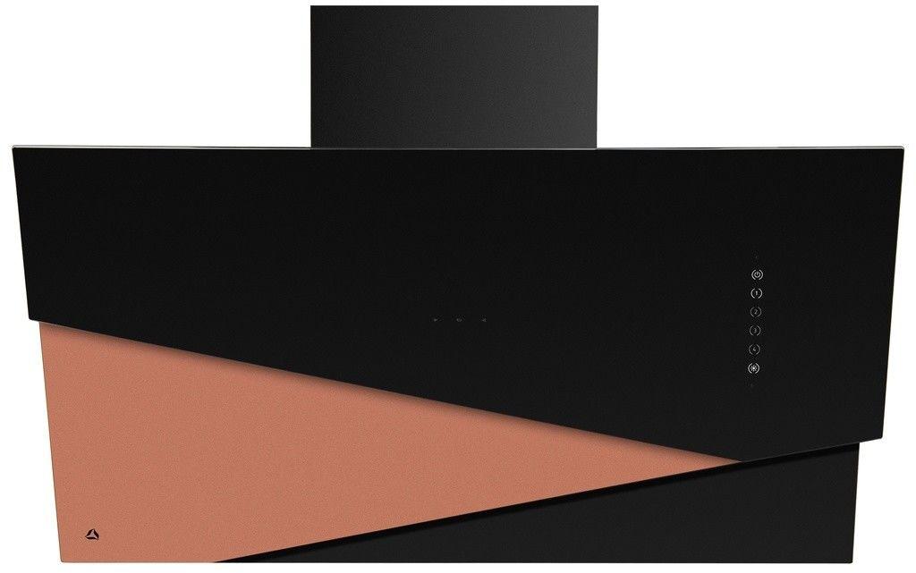 Trio Czarny/ Złoto Pochłaniacz z filtrem węglowym