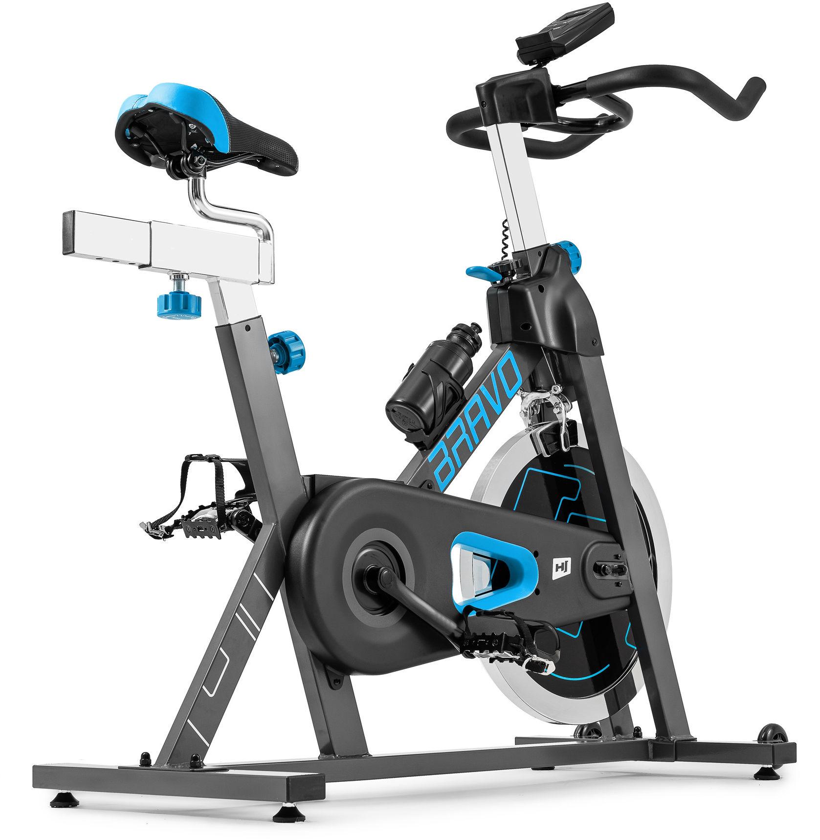 Rower spiningowy Indoor Cycling HS-045IC Bravo niebieski