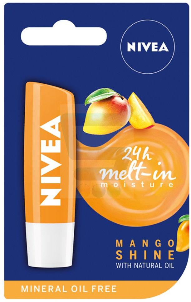 Nivea Pomadka ochronna Mango Shine 4,8g