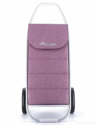 Wózek na zakupy ROLSER COM 8 Tweed Polar Malva