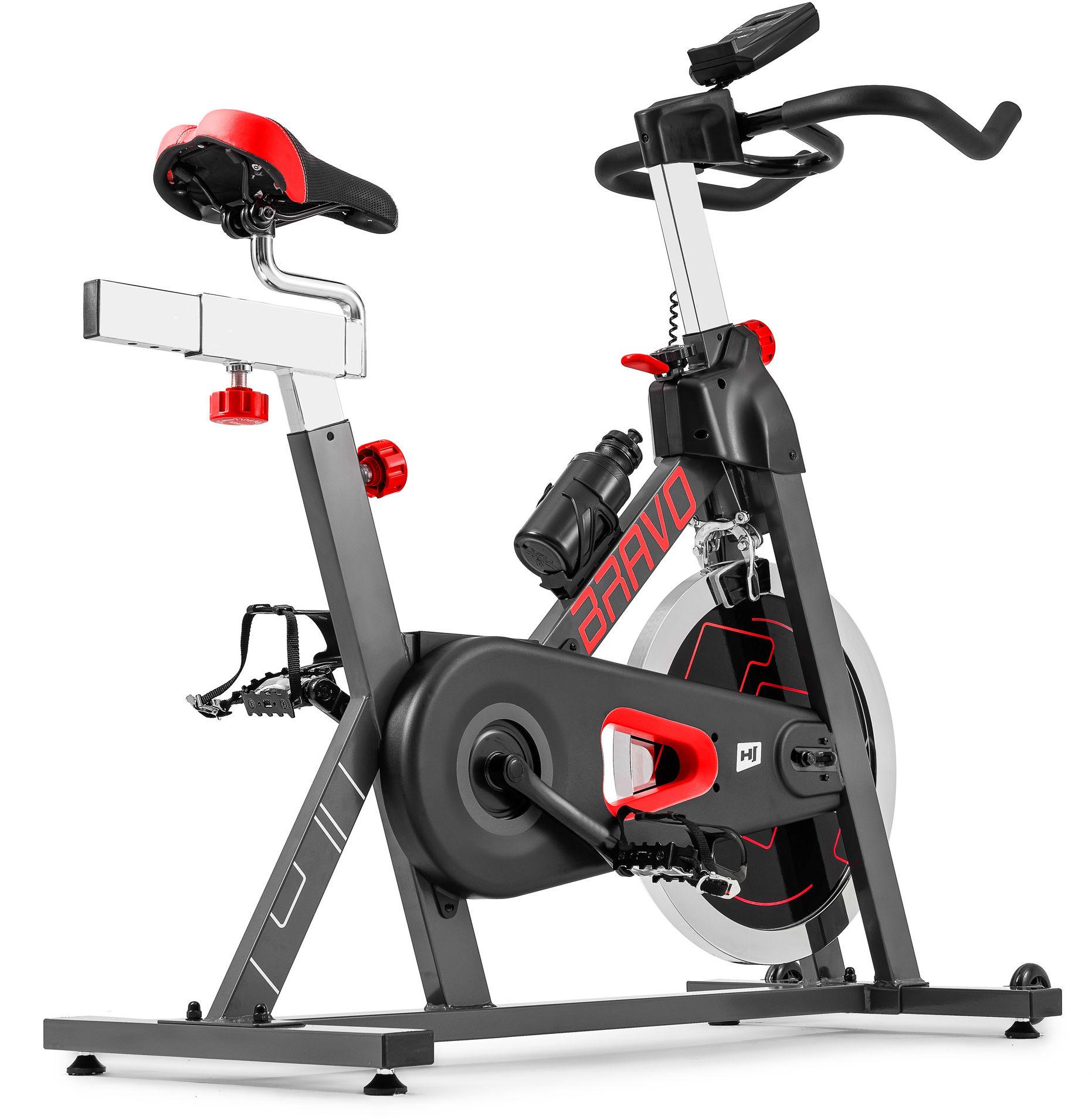 Rower spiningowy Indoor Cycling HS-045IC Bravo czerwony