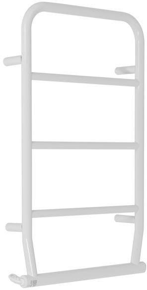 Grzejnik elektryczny como 420x720, biały (elektryczny suchy, suszarka łazienkowa)