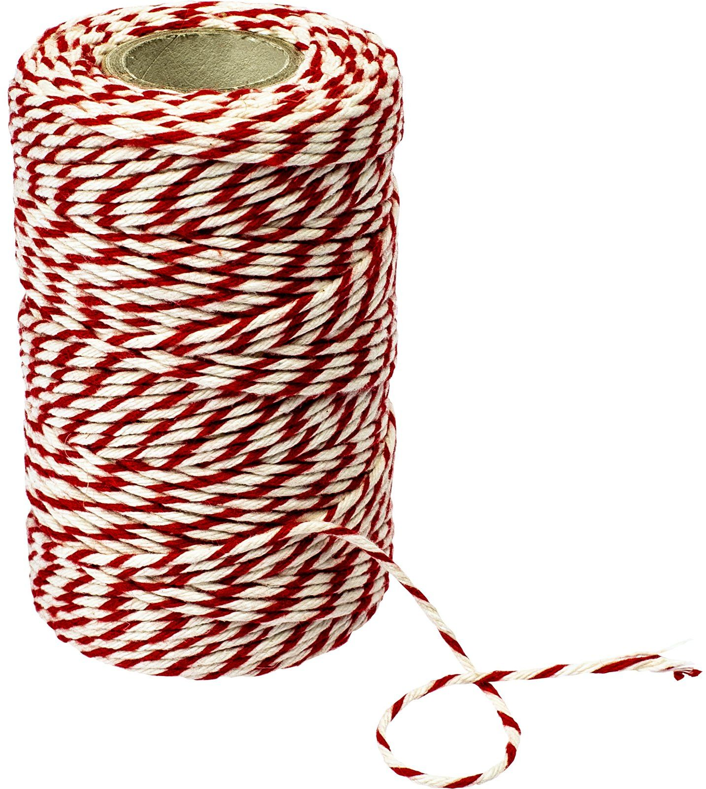 Nici wędliniarskie biało-czerw. baweł.(240 C) 55 m