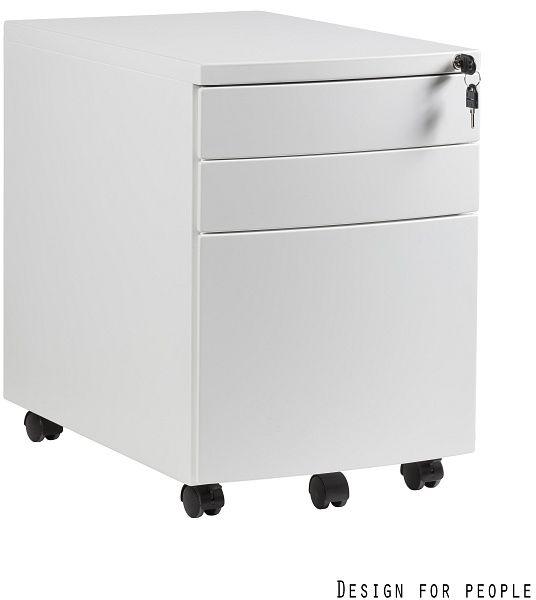 Kontener biurowy RP-01 biały Unique