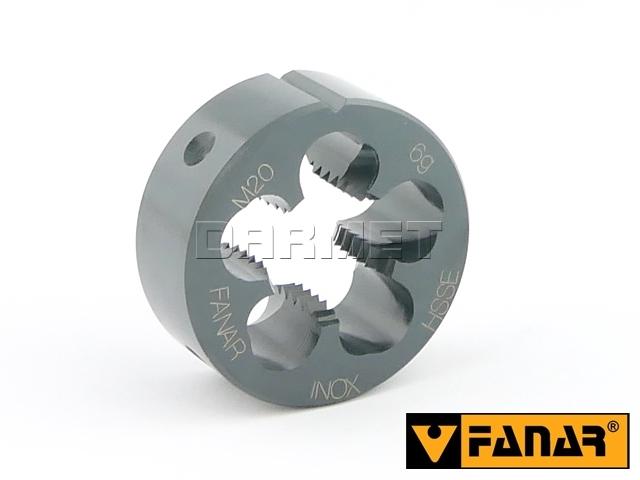 Narzynka maszynowa M20, HSSE INOX, gwint metryczny zwykły - FANAR (N2-188001-0200)