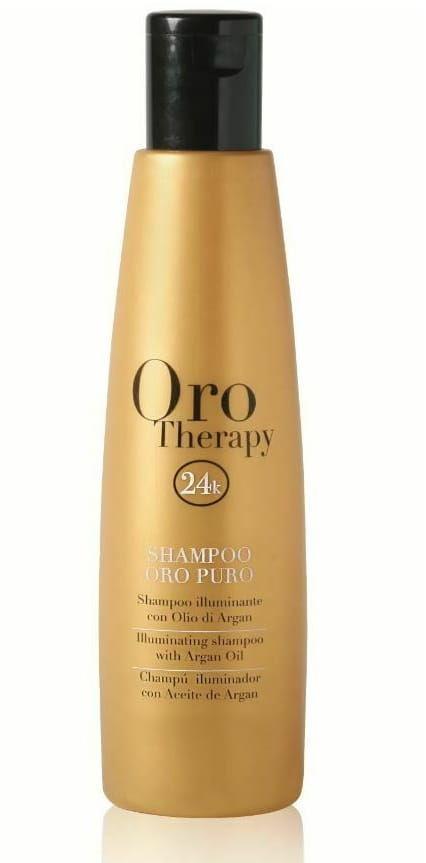 Fanola Oro Therapy Puro szampon wzmacnia rozświetla włosy 300ml