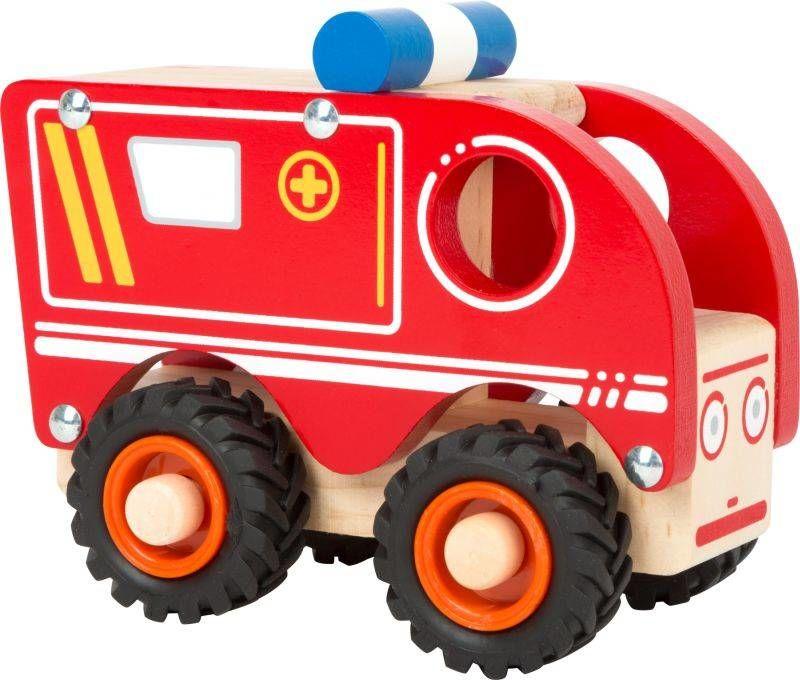Drewniana karetka pogotowia 11076-Small Foot, little cars