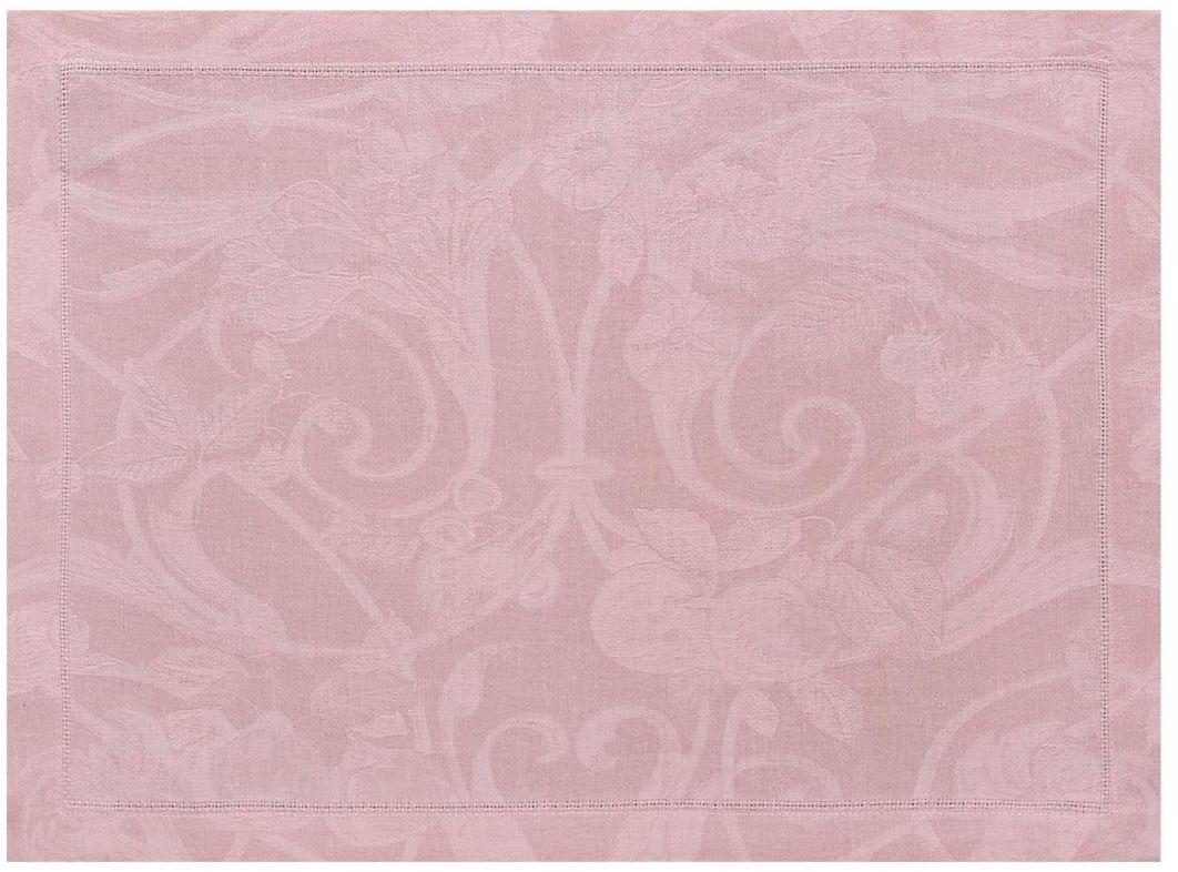 Podkładka żakardowa na stół Le Jacquard Fran ais Tivoli Powder Pink