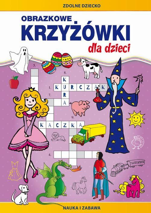 Obrazkowe krzyżówki dla dzieci - Monika Myślak - ebook