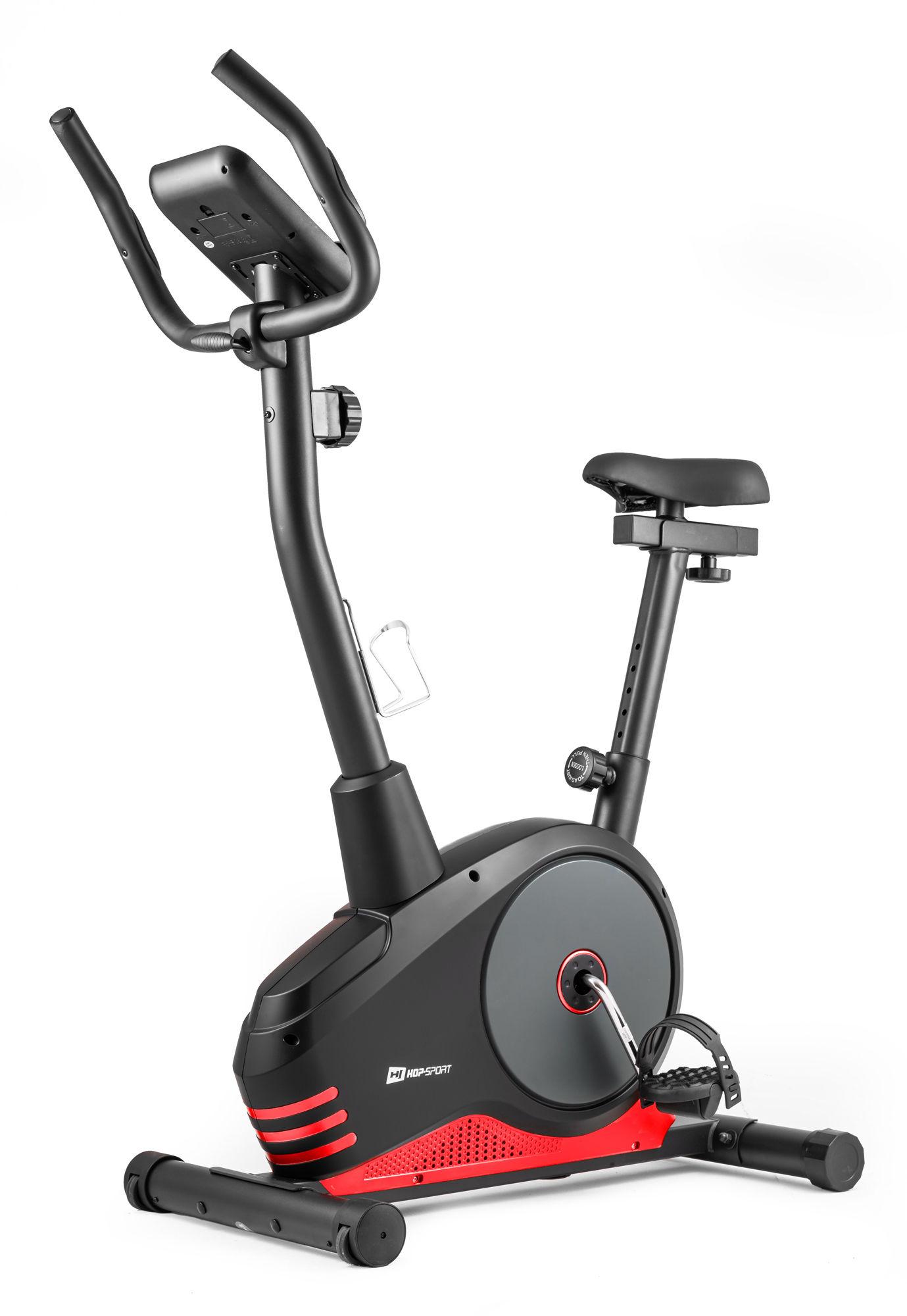Rower magnetyczny HS-2080 Spark czarno-czerwony