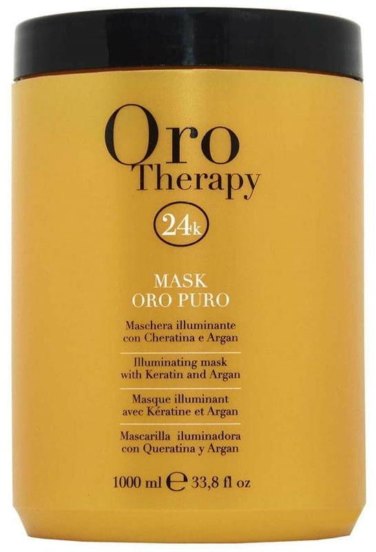 Fanola Oro Therapy Puro maska wzmacnia rozświetla włosy 1000ml