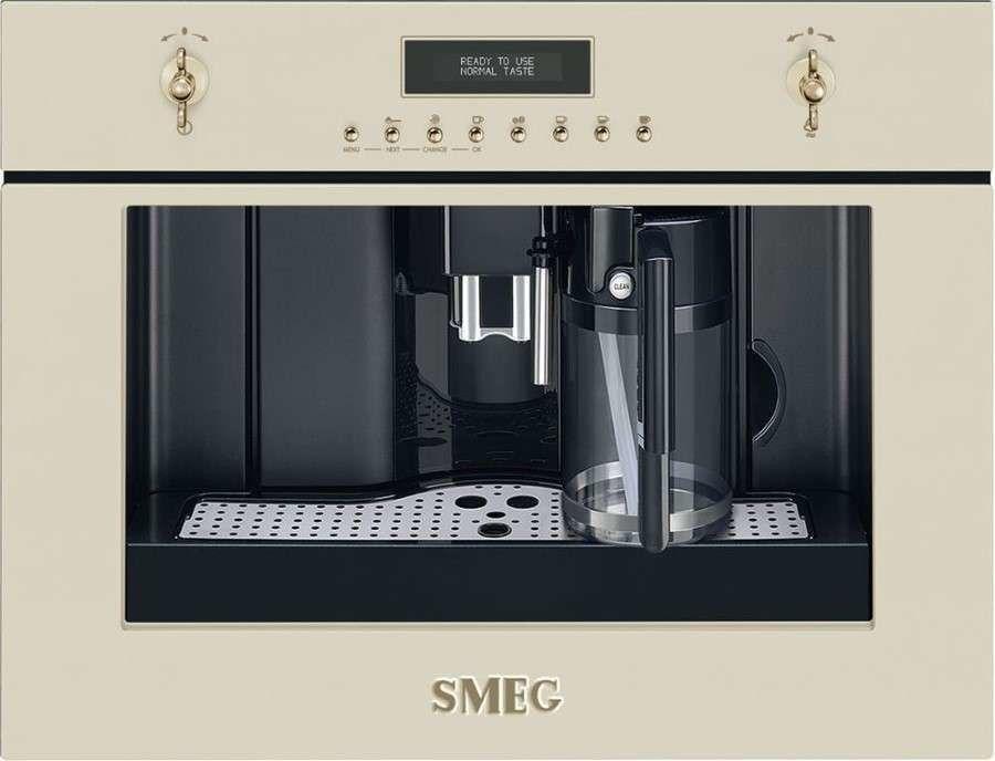 SMEG_Ekspres CMS8451P - Gwarancja do 5 lat ! - Użyj kodu i Płać mniej ! -(22)8777777- Zadzwoń - Darmowa dostawa- Autoryzowany Partner marki SMEG