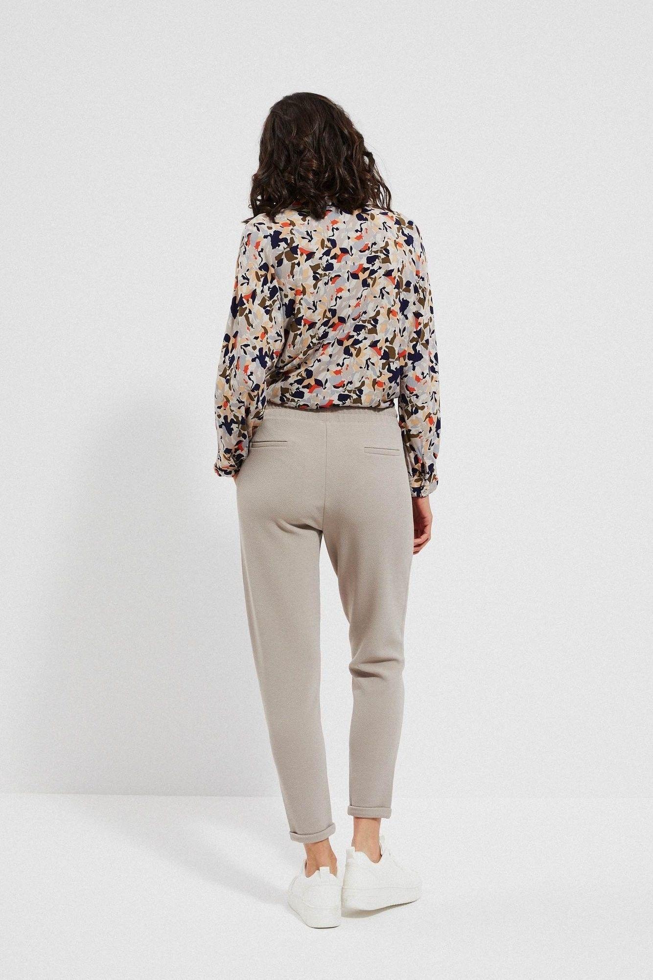 Spodnie z elastyczną talią