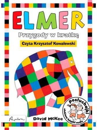 Posłuchajki Elmer Przygody w kratkę David McKee Audiobook mp3 CD