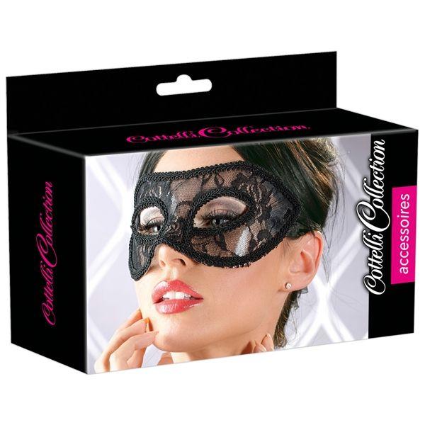 Cottelli Lace Mask - Eye Mask 2480271