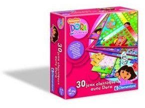 Clementoni  62032 30 klasycznych gier  gry planszowe  Dora