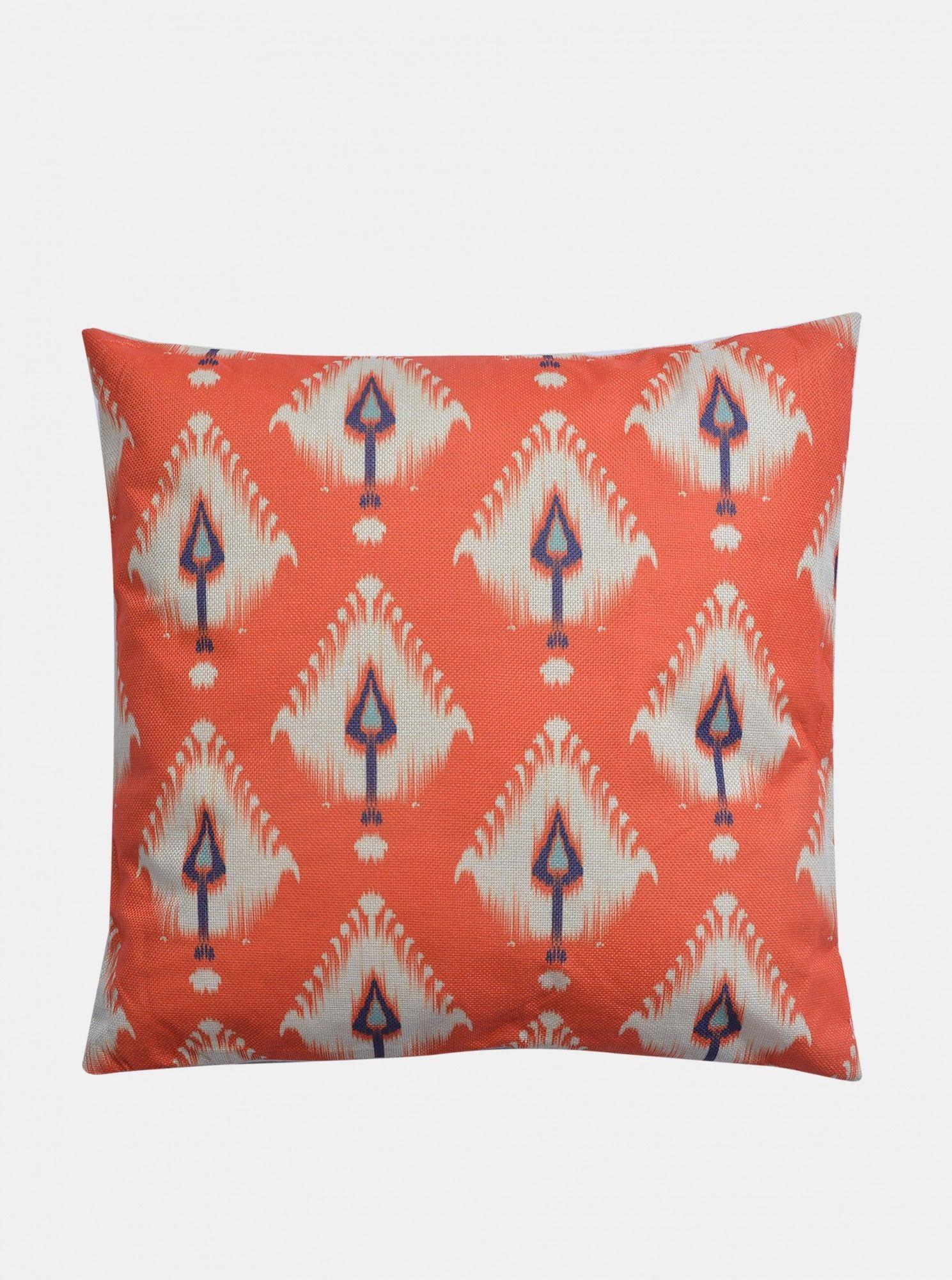 Clayre & Eef pomarańczowy poduszka dekoracyjna 43x43