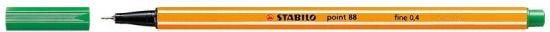 Cienkopis STABILO point 88/36 0.4mm zielony