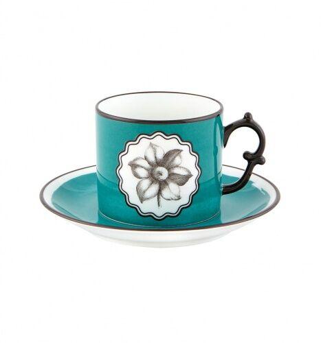 Niebieska filiżanka do herbaty Herbariae Vista Alegre