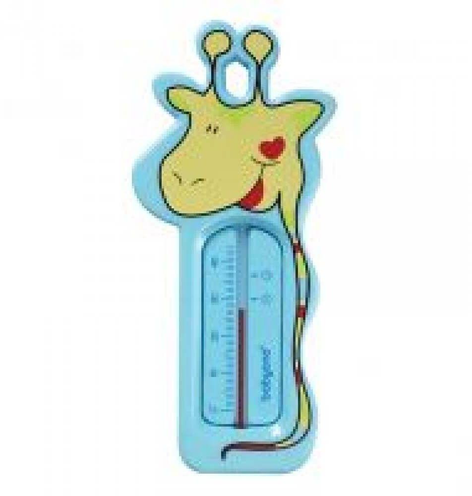 Termometr do kąpieli niebieska żyrafa