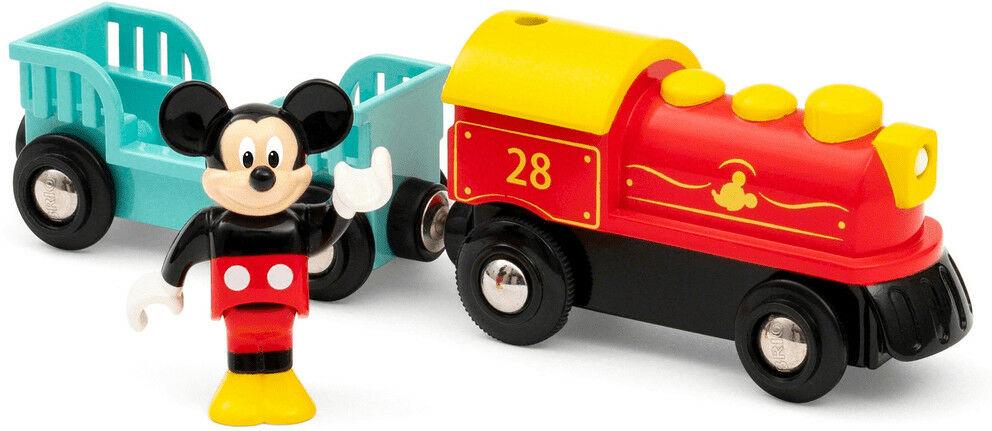 BRIO - Brio Pociąg Myszki Miki na Baterie