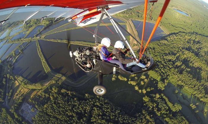 Lot motolotnią z wideofilmowaniem dla Dwojga - Ostrów Wielkopolski - 30 minut