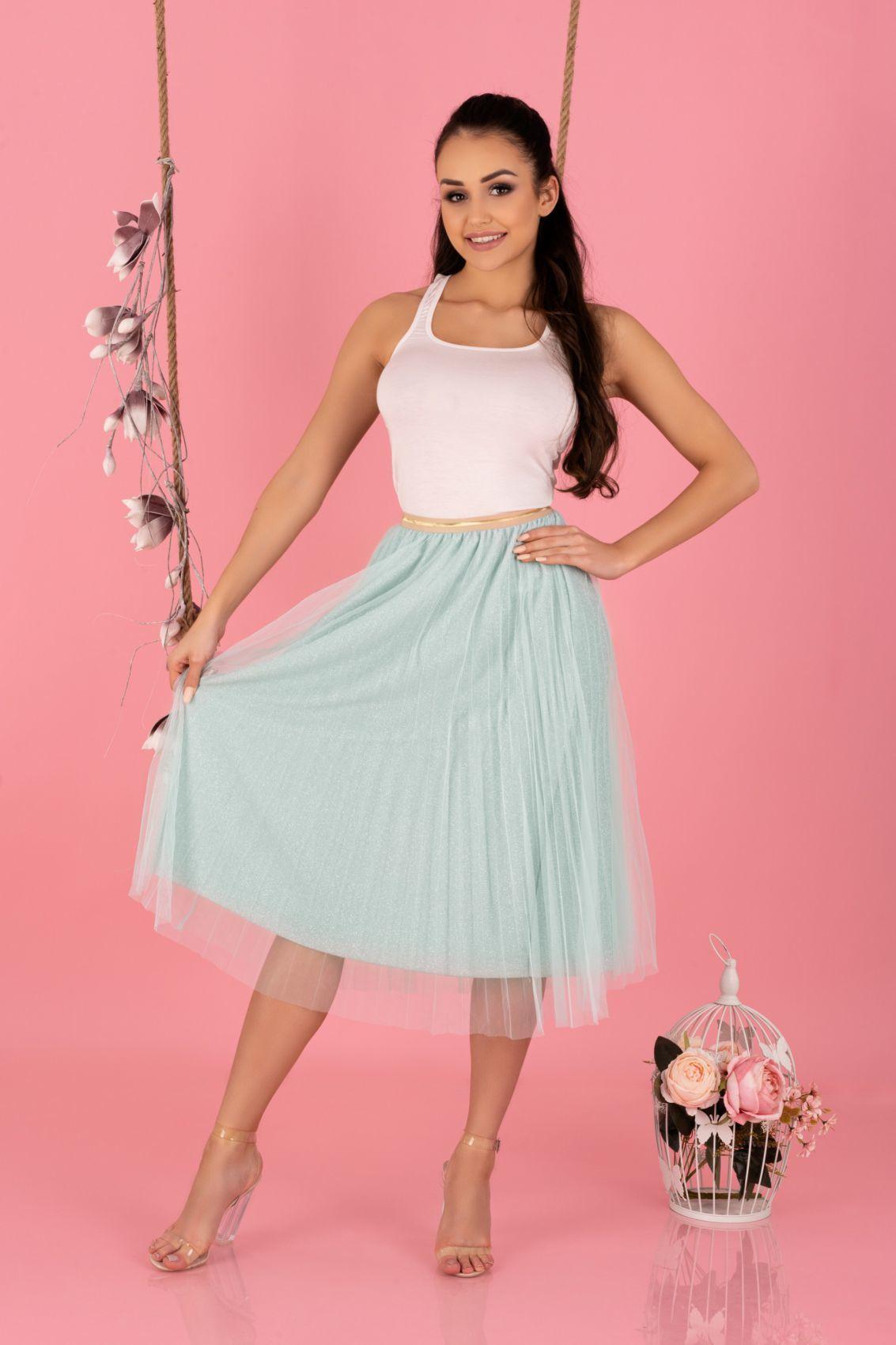 Neri Mint 0317 spódnica