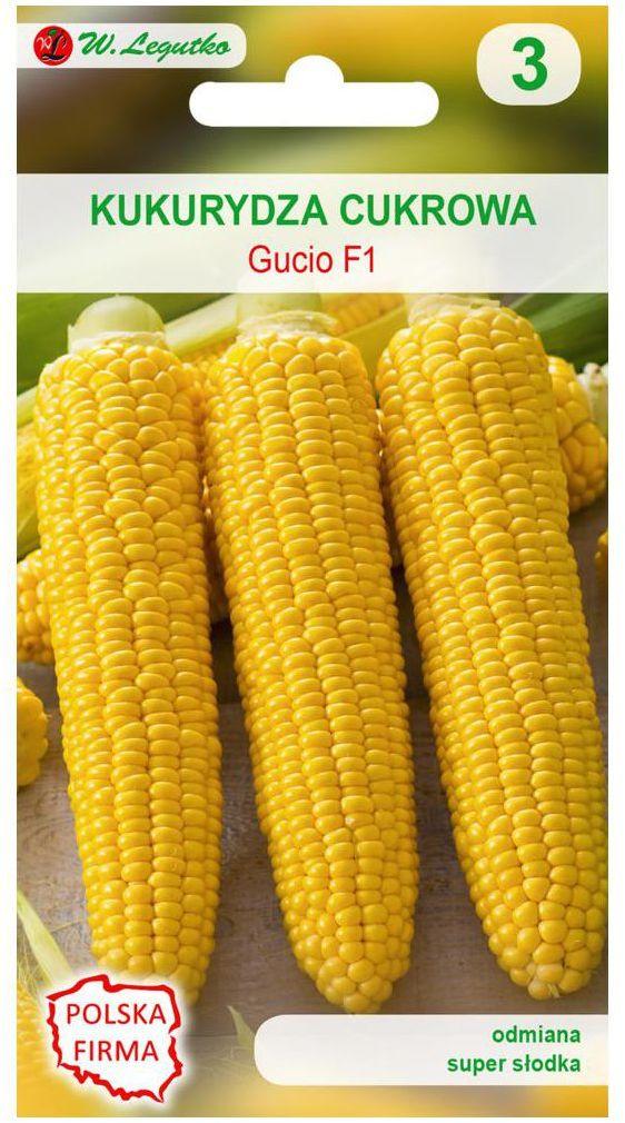 Kukurydza cukrowa GUCIO F1 nasiona tradycyjne 5 g W. LEGUTKO