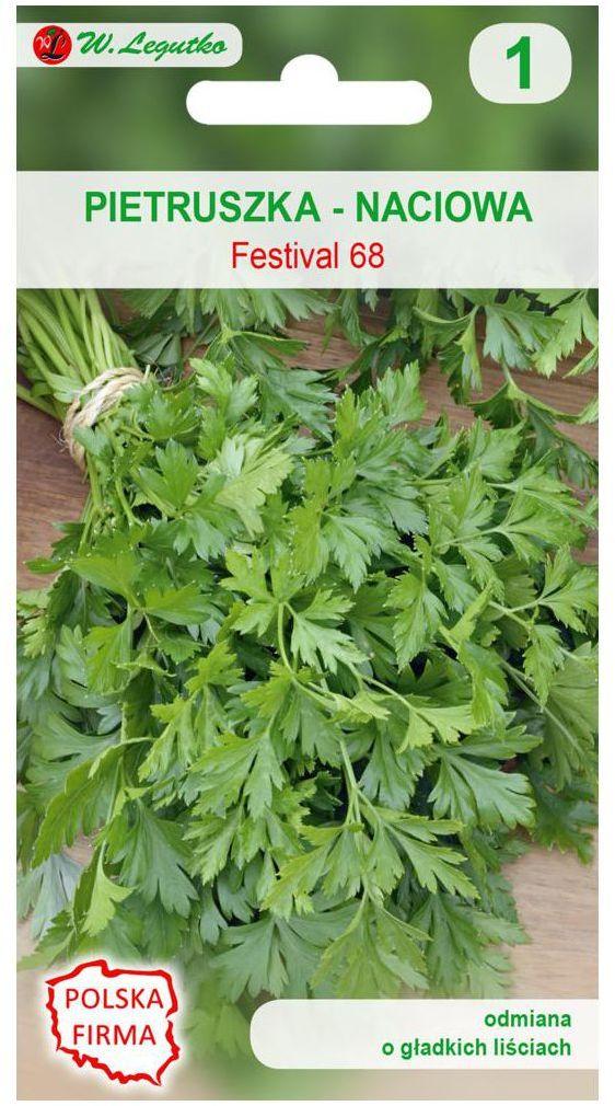 Pietruszka naciowa FESTIVAL 68 nasiona tradycyjne 5 g W. LEGUTKO