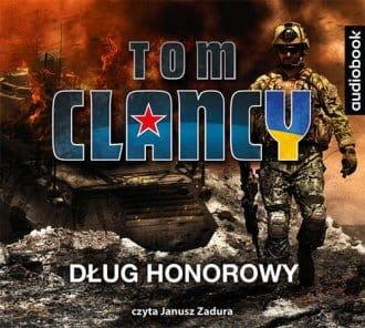 Dług honorowy Tom Clancy Audiobook mp3 CD