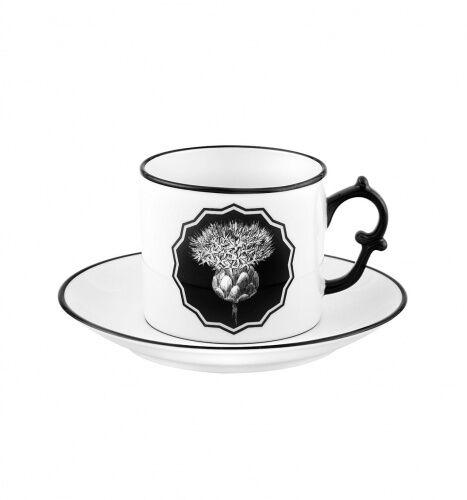 Biała filiżanka do herbaty Herbariae Vista Alegre