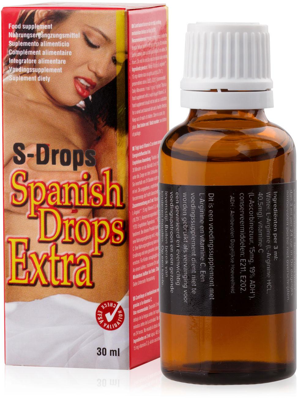 SUPLEMENT DIETY SPANISH DROPS EXTRA - SILNE I SZYBKIE DZIAŁANIE 30ml - IIF 652727