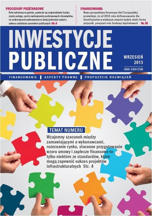 Inwestycje publiczne nr 6 - praca zbiorowa - ebook
