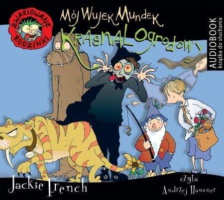 Mój wujek mundek krasnal ogrodowy Jackie French Audiobook mp3 CD