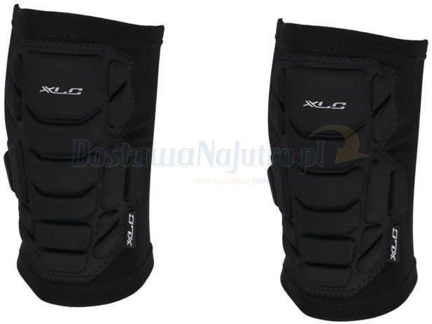 Ochraniacze kolan XLC KW-S03 enduro DH rower czarne elastyczne