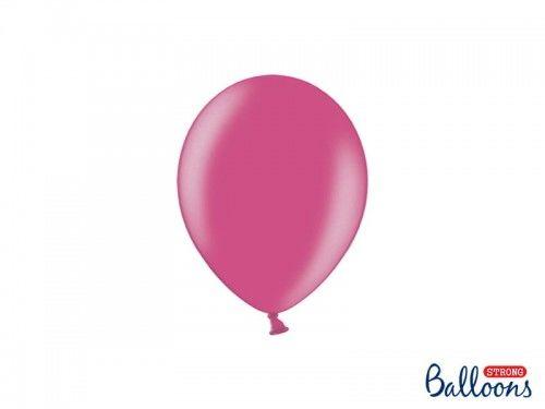 """Balon 5"""" ciemno różowy, metaliczny"""