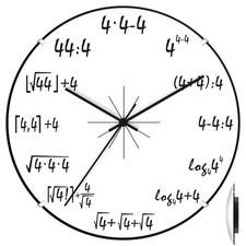 Zegar ścienny convex 4 matma