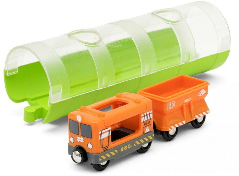BRIO - Brio World Pociąg Towarowy z Tunelem