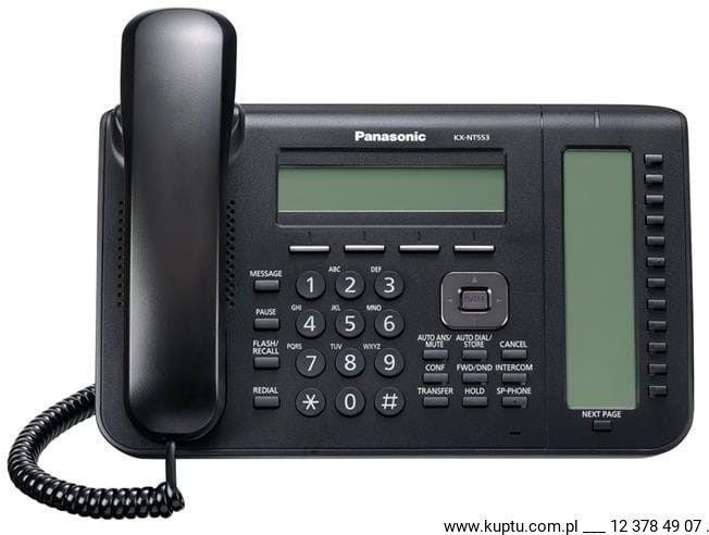 KX-NT553X-B telefon systemowy IP