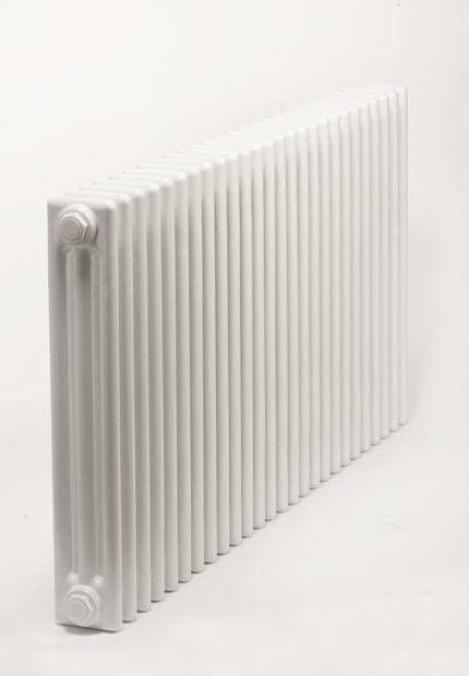 Grzejnik pokojowy retro - 3 kolumnowy, 600x1800, biały/ral - biały