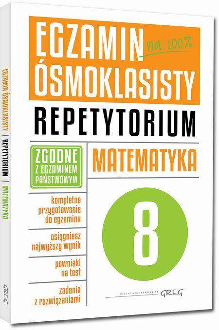 Egzamin ósmoklasisty - matematyka Repetytorium