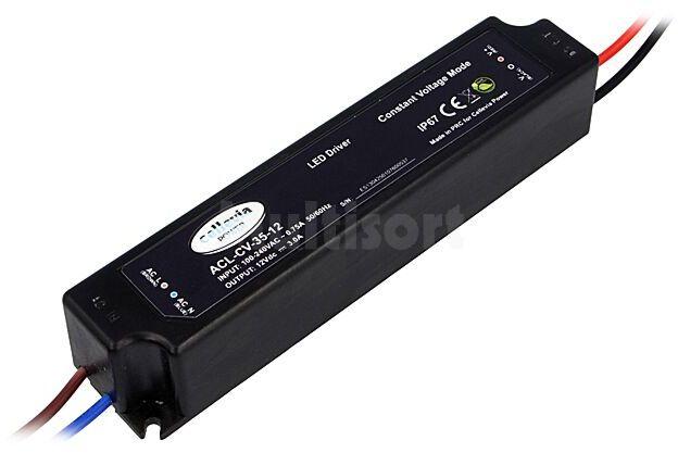 Zasilacz impulsowy do diod LED 35W 12VDC 3A 100 240VAC IP67