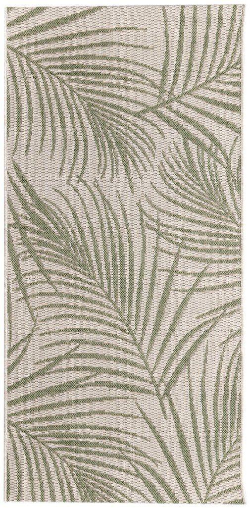 Dywan Cottage II wool/ jungle green 67x130cm
