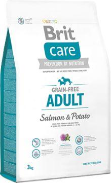 Brit Care Grain-Free Bezzbożowa Salmon & Potato Łosoś Adult 3 kg