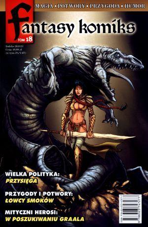Fantasy Komiks Tom 18 ZAKŁADKA DO KSIĄŻEK GRATIS DO KAŻDEGO ZAMÓWIENIA
