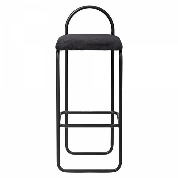 AYTM - ANGUI Hoker - Krzesło Barowe 82,5 cm Antracytowy